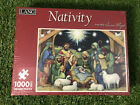 New Sealed 1000 Piece Jigsaw Puzzle Lang Nativity Scene Susan Winget 29 x 20