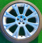 Factory Jaguar XJ Wheels Pirelli Tires Genuine Original OEM XJL Orona Polished 4