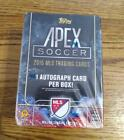 2015 Topps Apex MLS Soccer Factory Sealed Retail Box 1 Autograph Per Box - RARE!