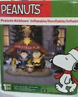 Gemmy 6ft Peanuts Lighted Nativity Scene Christmas Inflatable