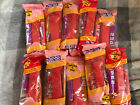 Lot of 10 Valentines Heart Shaped PEZ Candy Dispenser Red Pink Sealed Be Mine XO