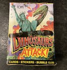 1988 Topps Dinosaurs Attack Wax Box Unopened, Clean Box, 48 ct.