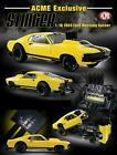 New GMP 118 Scale 1969 Ford Mustang Gasser Stinger Diecast Yellow 18932 B