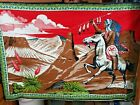 Vintage Landscape Wall Tapestry Art Made in Turkey 100 Cotton Native American