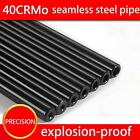 Black 16MM O D Seamless Steel Hydraulic No Rifling Chromium Molybdenum Tube Pipe