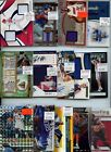 PREMIUM 1,000 CARD PATCH AUTO JERSEY INSERT ROOKIE SPORTS CARD COLLECTION LOT $$