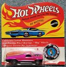 Hot Wheels REDLINE 1970 HOT PINK SEASIDER IN UNPUNCHED BLISTER RARE MIB