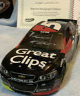 Kasey Kahne 5 Great Clips 2013 SS ChevyAutographed Elite NASCAR Lionel Die cast