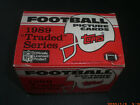 1989 TOPPS FOOTBALL TRADED SET - 132 CARDS