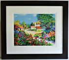 ALEX PEREZ 1946 SERIGRAPH HAND SIGNED NUMBERED FRAMED RARE PIECE MINT