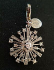 Juicy Couture Limited Edition Snowflake Charm Cubic Zirconia 2009 NEW in BOX