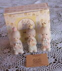 1982 PRECIOUS MOMENTS WEE THREE 3 KINGS MINI NATIVITY ADDITON 213624 TENT CARD