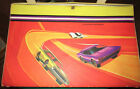 VTG MATTEL HOT WHEELS REDLINE 1969 LARGE VINYL 48 COMPARTMENTS CARRYING CASE