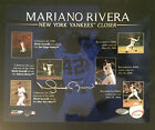 MARIANO RIVERA YANKEES SIGNED AUTOGRAPHED 8X10 PHOTO SAVES COLLAGE STEINER COA