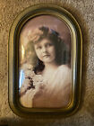 Lovely antique Bubble Glass frame