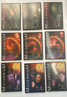 X-Files MILLENIUM Complete Series Season 1, 2, & 3 1-3 DVD Box Sets 18-Discs