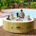 Brand New Goplus Inflatable Hot Tub 6 Person Spa Hot tub Outdoor Tub w Cover