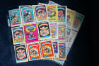 FULL SET 1985 First Series Garbage Pail Kids OS1 GOOD Condition (Only 4 with Ink
