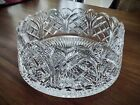 Heritage Irish Crystal Cathedral Castle Scalloped Bowl