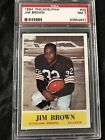 1964 Philadelphia Jim Brown #30 PSA 7 NM.