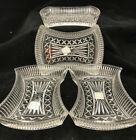 4 TOTAL Fifth Avenue Crystal Candy Dishes 6 3 4 NEW