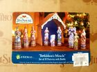 JIM SHORE BETHLEHEMS MIRACLE LARGE NATIVITY SET HEARTWOOD CREEK 10PC 2009