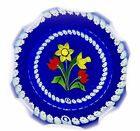 Caithness Whitefriars Floral Paperweight Celebration