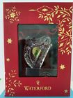 Ireland Waterford Crystal Celtic Harp Ornament with Hook in original package
