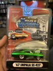 The Original Muscle Machines Green 67 Impala SS 427 164 Scale Die Cast 1967