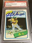 Rickey Henderson Cards, Rookie Card and Autographed Memorabilia Guide 41