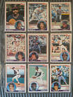 1983 Topps Baseball Cards Complete Set Excellent Condition