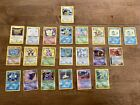 Lot of 258 Old Pokemon Cards some First Edition Lots of Holos Good Condition