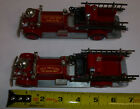 Ashton Models New Orleans  Pittsburgh Fire Engine Lot of 2 Engines Die Cast