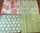 Amy Butler Valori Wells Fabric Cotton 1 2 Yd Pieces Daisy Chain Love Greens OOP