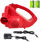 Air Pump Electric Battery Powered Power Cordless Ac Dc Perated Universal Nozzles
