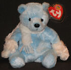 TY ICECUBES the BEAR BEANIE BABY - MINT with MINT TAGS