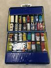 Vintage Lot of 48 Matchbox Lesney Cars and Collectors Case