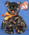 TY YIKES the BEAR BEANIE BABY - MINT with MINT TAGS  (GOLD CROWN EXCLUSIVE)