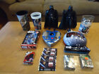Star Wars toy lot - Darth Vader figures, trading card, puzzles, cups, Pez