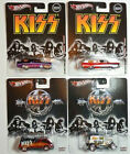 HOT WHEELS POP CULTURE KISS Set of 4 2011 2013 A OK 56 NOMAD 59 DELIVERY