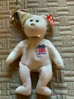 Ty Beanie Baby - APRIL the Birthday Teddy Bear (8-9.5 Inch) MINT with TAGS