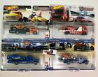 4 Car Set Case L  2021 Hot Wheels Team Transport SRT Ford BMW Baja IN STOCK
