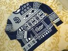 Men's MLB San Diego Padres Ugly Holiday Christmas Sweater Size XXL