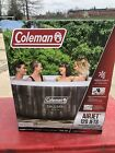 Coleman SaluSpa Bahama 4 Person Inflatable Outdoor Hot Tub Air Jets Jacuzzi
