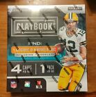 2019 Panini Playbook Football HOBBY Box SEALED - 4 Hits Including Booklet