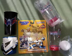 Mint 1998 Kolzig Starting Lineup, Caps light-up cups & old jersey koozie