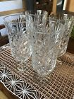 4 Fifth Avenue Portico Iced Beverage Lead Crystal Glasses MINT