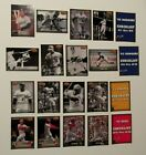 1993 TED WILLIAMS CARD CO MEMORIES COMPLETE 20 CARD SET - CLEMENTE, BENCH +