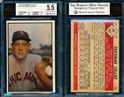 1953 Bowman Baseball Cards - Color and Black & White Series 66