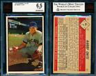 1953 Bowman Baseball Cards - Color and Black & White Series 56